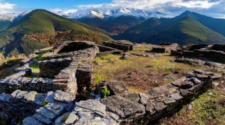 El Camino de Invierno atraviesa el único geoparque de Galicia
