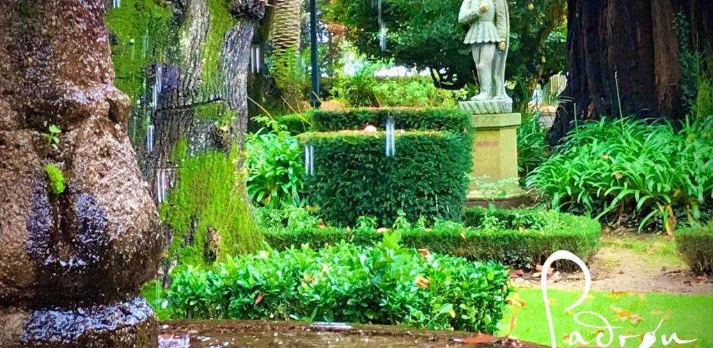 El jardín botánico de Padrón