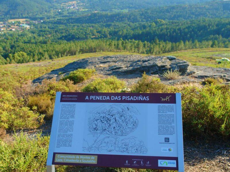 El ayuntamiento de Laza pone en valor el yacimiento rupestre de As Pisadiñas